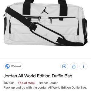 ea0ad0b74933d6 Jordan Bags - Jordan All World Edition duffel bag